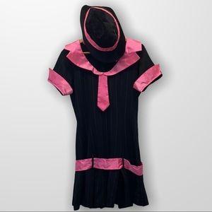 🎃 RUBIES COSTUME CO. Gangsta Girl Costume Sz Med